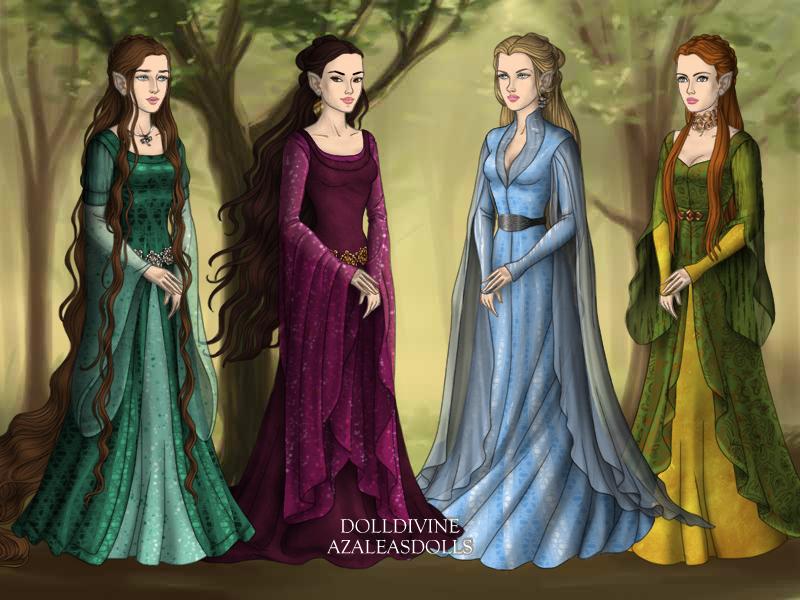 Lord Of The Rings Dress Up Azalea