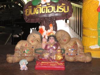 With my AI in Thailand by ninquetari