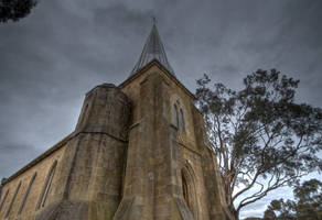 A Church on The Hill 1 by fazz1977