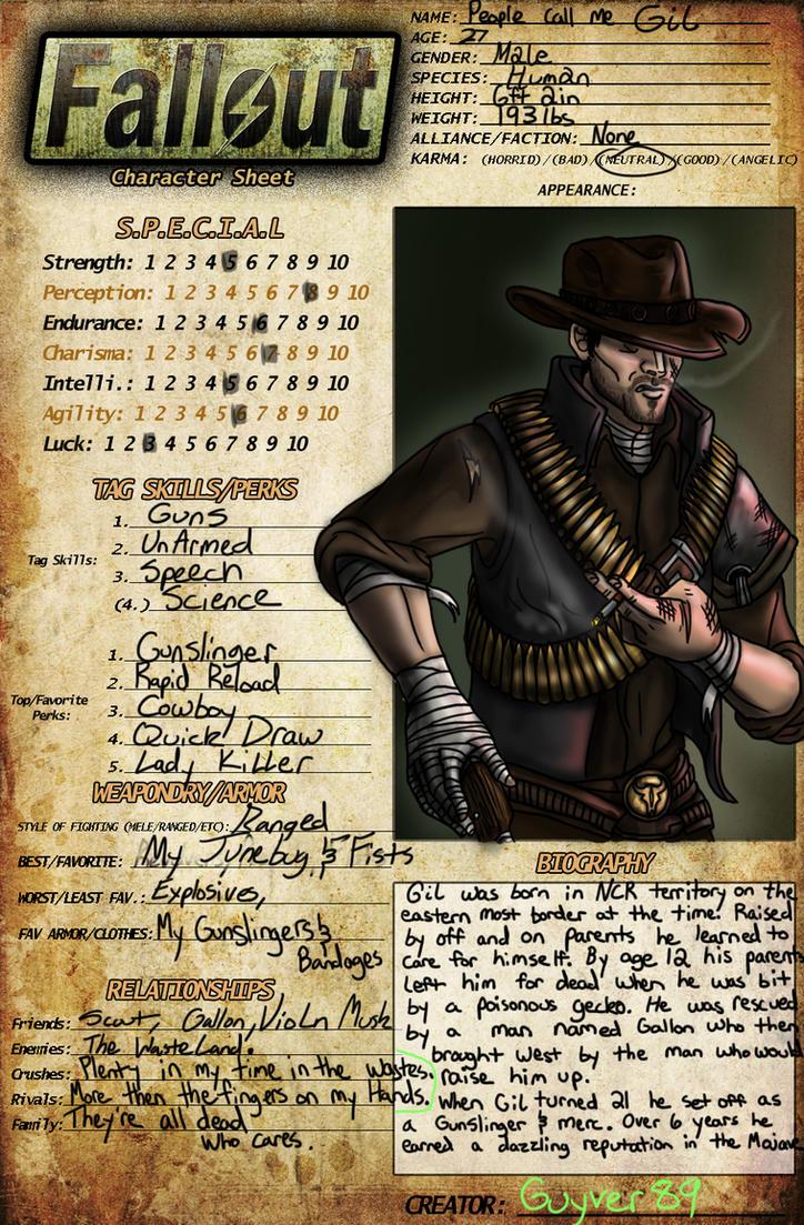 Fallout OC Meme: Gil by Guyver89
