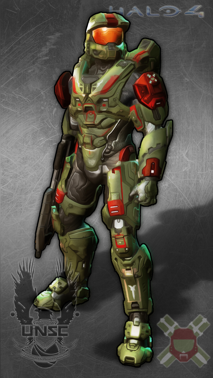Halo 4 Quikie: My Armor by Guyver89