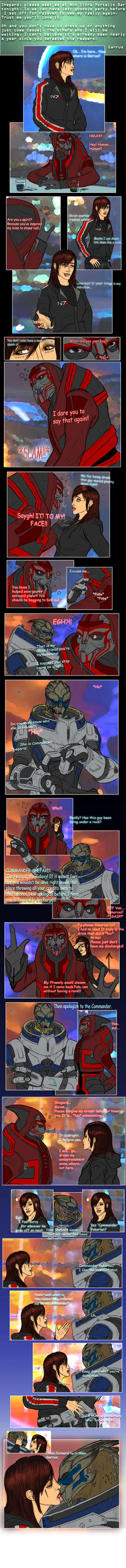 Mass Effect: Beginning A New by Guyver89