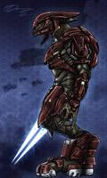 Halo 4 Sangheili Officer