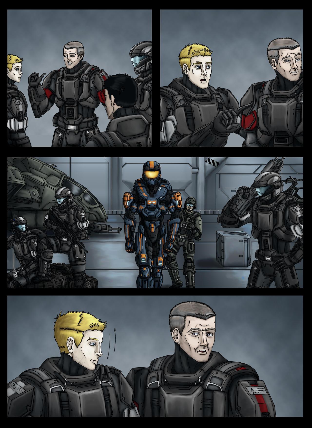 My Halo Related Art (Armor/Comics/etc   ) | Community