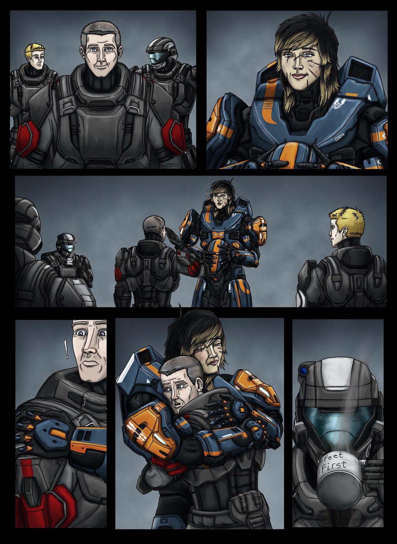 my halo related art armor comics etc community creations