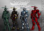 The Guyver Parallel Dimension: Height Chart v1