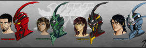 The Guyver PD: Bio Boosted Cast