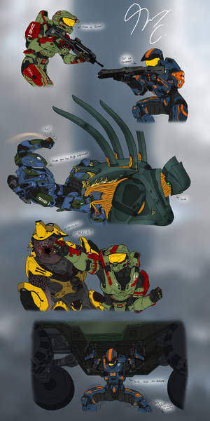 Halo Ammunition Sketches Page 2