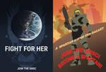 Random Halo Posters
