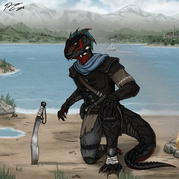 The Elder Scrolls: Caught in a Snag by Guyver89