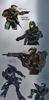 Halo Ammunition Sketches Page 3
