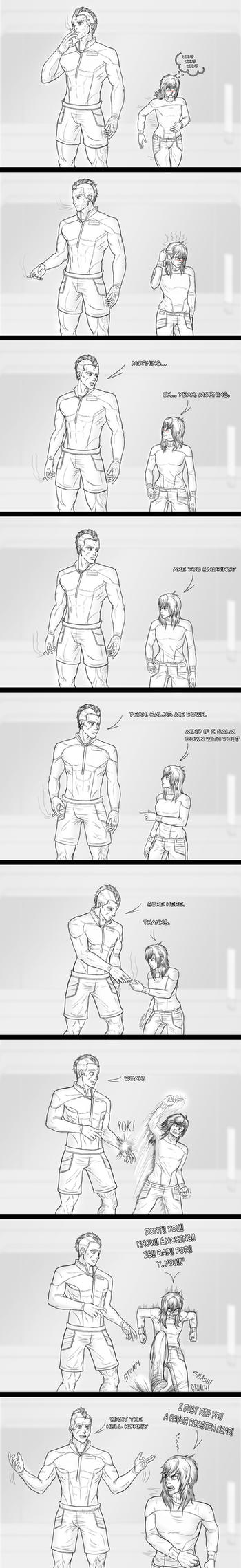 Shore Leave: Why? by Guyver89