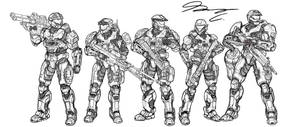 Halo Ammunition: Fire Team Quiver WIP