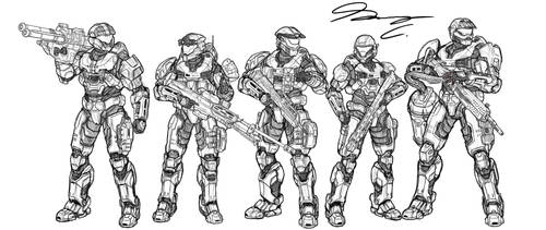 Halo Ammunition: Fire Team Quiver WIP by Guyver89