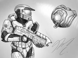 Halo-Ween 2018 - #28 Insistent Protocol by Guyver89
