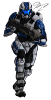 Commission - Spartan ArchAngel470 by Guyver89