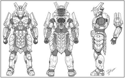 Halo Cosplay Design: Brute Slayer - DemonicKing101 by Guyver89
