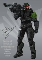 Fire Team Quiver: SPARTAN-A102 Erol by Guyver89