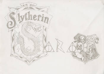 SLYTHERIN FTW! by Piggyinawig
