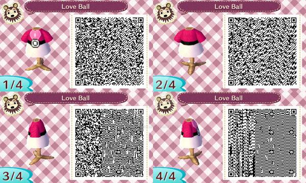 Animal Crossing New Leaf Love Ball Qr Code By Ladycharizard On Deviantart