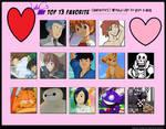 LadyC's Top Thirteen Characters She'd Hug