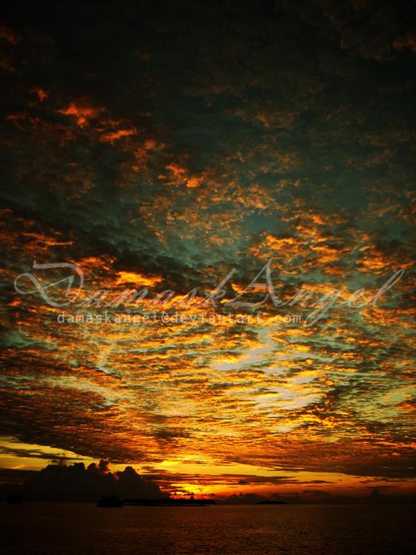 Beneath These Fiery Skies by damaskangel