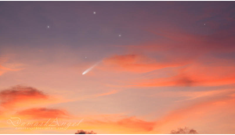 Shooting Star by damaskangel