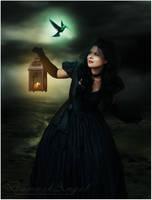 Her Magical Bird by damaskangel