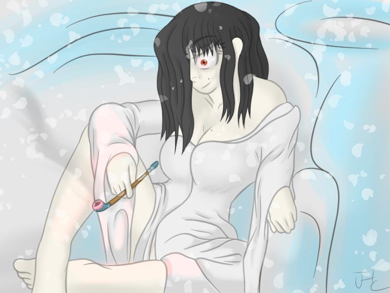 monster girl challenge 23 Yokai by pychosamuraiJoe