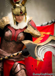Legion Commander Cosplay