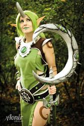 League of Legends Soraka Dryad Cosplay
