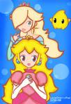Rosalina and Peach Sisters?