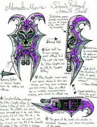 ~Memento Mori: The Bladed Shield Assault Weapon~ by Razmakai
