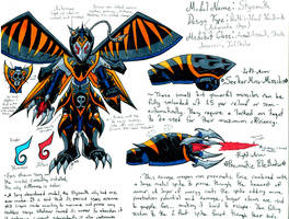 ~Suzumega Contest: Styxmoth, the Infiltrator~ by Razmakai