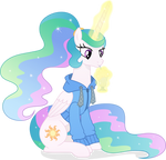Princess Celestia #3 by PumpkinPieforLife