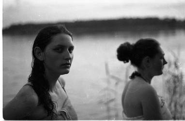 girls_by_the_lake by abcdefblue