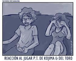 Reaccion del PT de Kojima y Del Toro by saxagenia