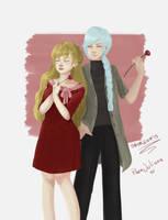 Couple by saxagenia
