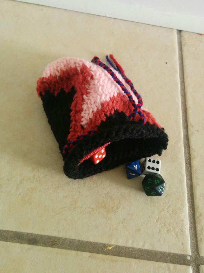 Garnet Dice Bag 2 by Wolfina2