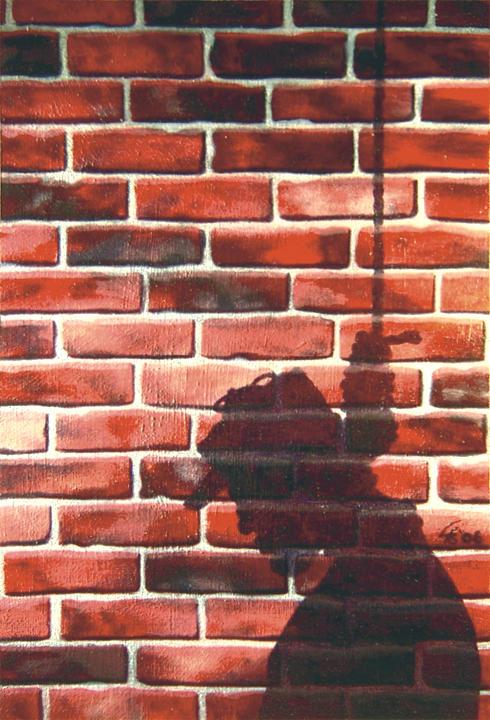 Dead Man's Shadow by egoodwinart