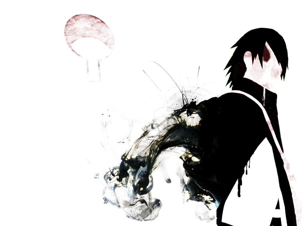 Sasuke Uchiha - Abstract Wallpaper by Unier