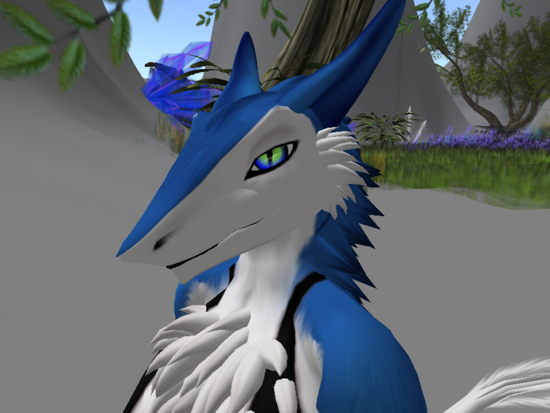 Its Zero the.....Sergal? by Cinderbutt