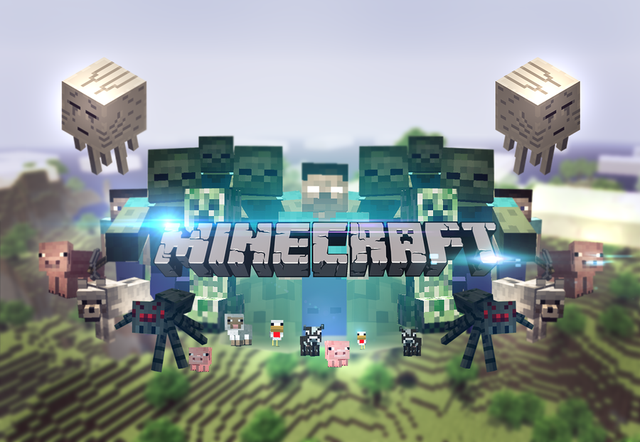 awesome minecraft wallpapers herobrine images pictures
