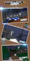 JUMP Minecraft Parkour Map by MikasDA