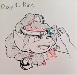 Inktober Day 1 Ring