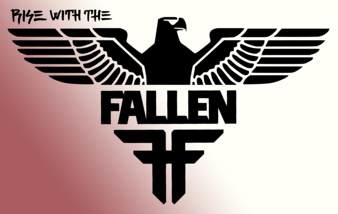 Rise with the Fallen by DeathAmbre on DeviantArt Fallen Shoes Logo Wallpaper