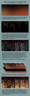 City Skyline at Night Tutorial