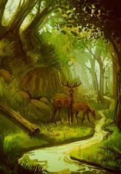 Deer by IntroducingEmy