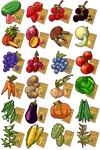 Game Items - Crops
