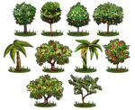 Game Items - Trees
